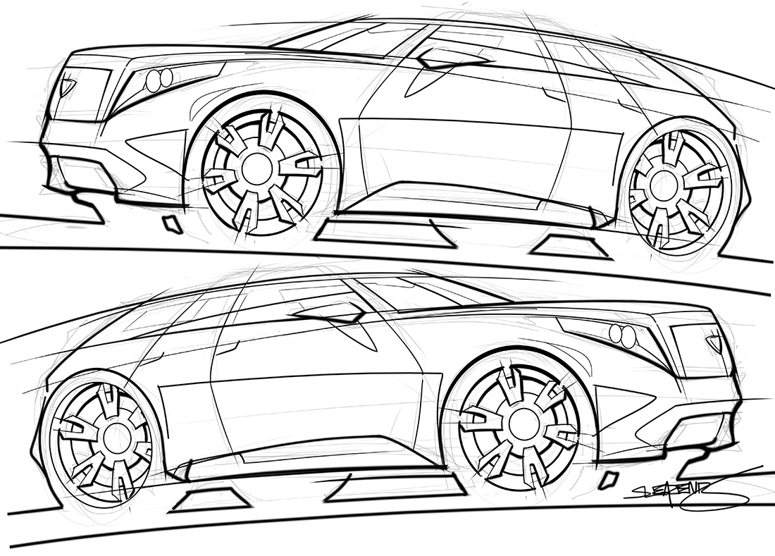 concept car drawing at getdrawings com