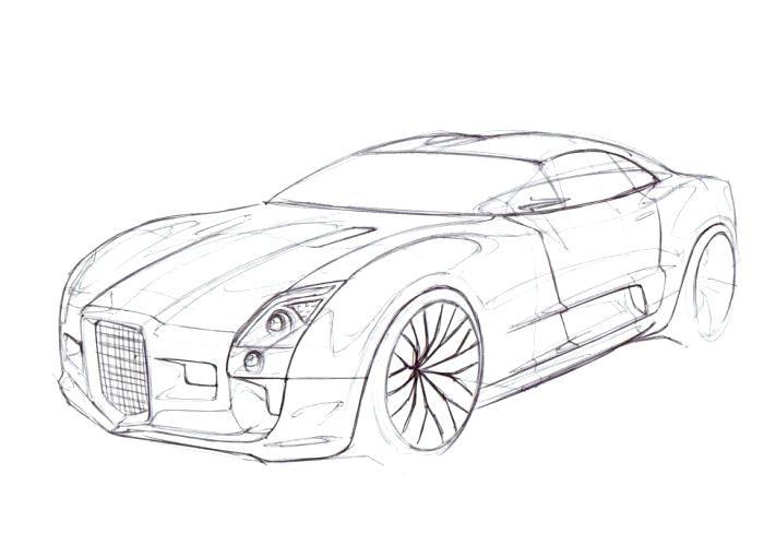 700x510 Audi Super Concept Car Gt Concept Car Coloring Page Audi R8