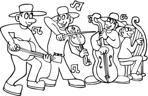 480x314 Concert Coloring Page Free Printable Coloring Pages