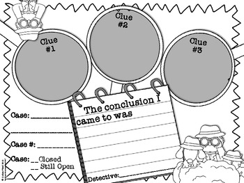 350x263 Free} Drawing Conclusions Graphic Organizer By Lindsay Flood Tpt