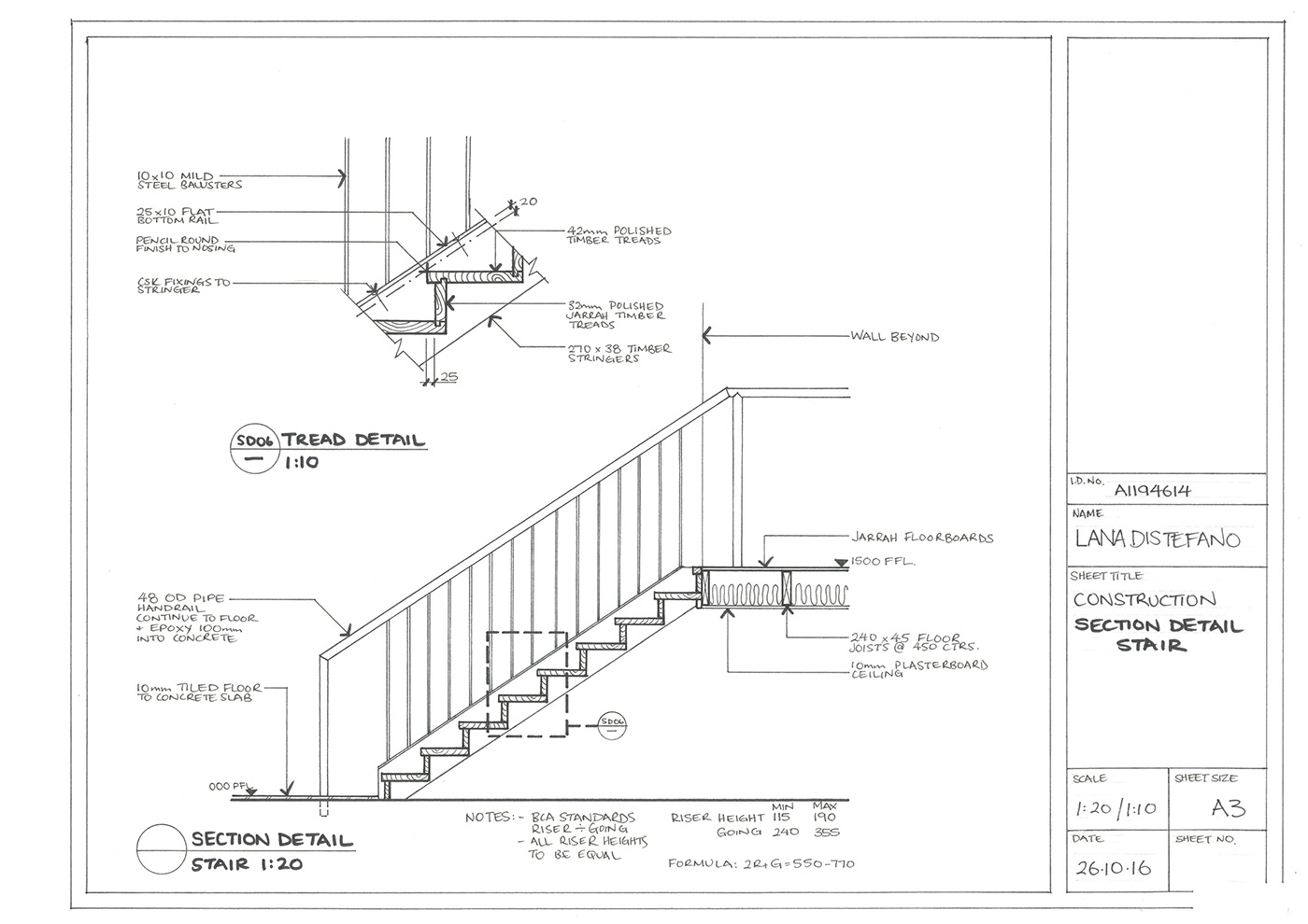 1400x990 Hand Drawn Construction Drawings On Behance