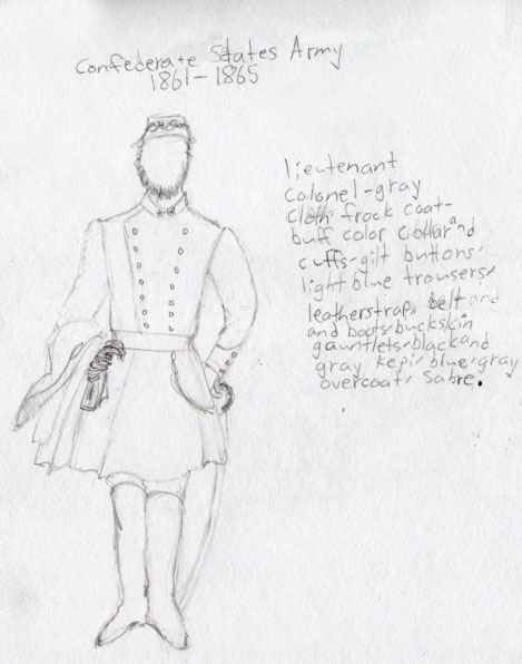 469x596 Confederate Soldier By Confederate