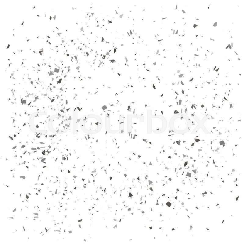 800x800 Gray Particles Background. Gray Confetti Isolated On White