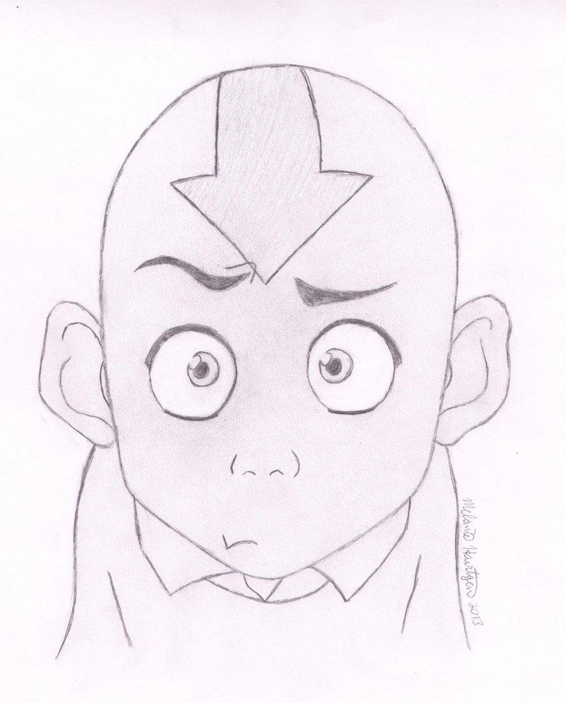 802x996 Confused Aang Is Confused By Avatardsherlockian