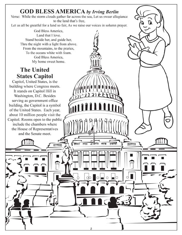 612x792 Pledge Of Allegiance Coloring Page