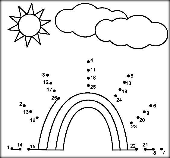 564x522 Free Dot To Dot Coloring Pages For Preschoolers