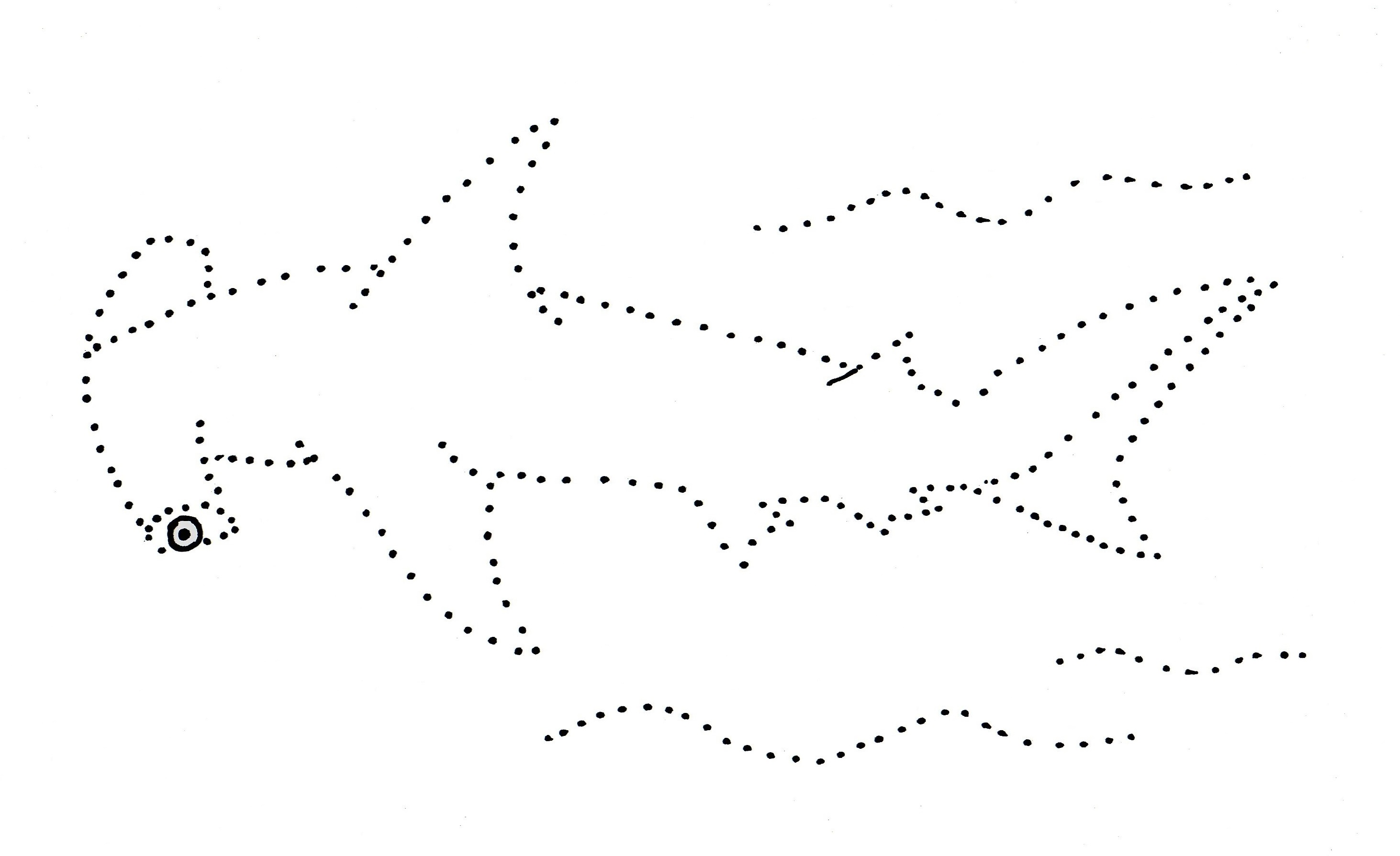 Connect The Dot Drawing at GetDrawings.com | Free for personal use ...