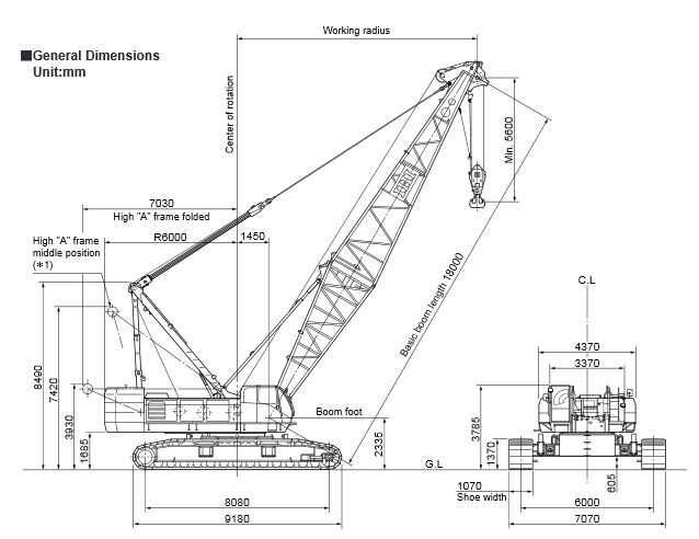 construction crane drawing at getdrawings com