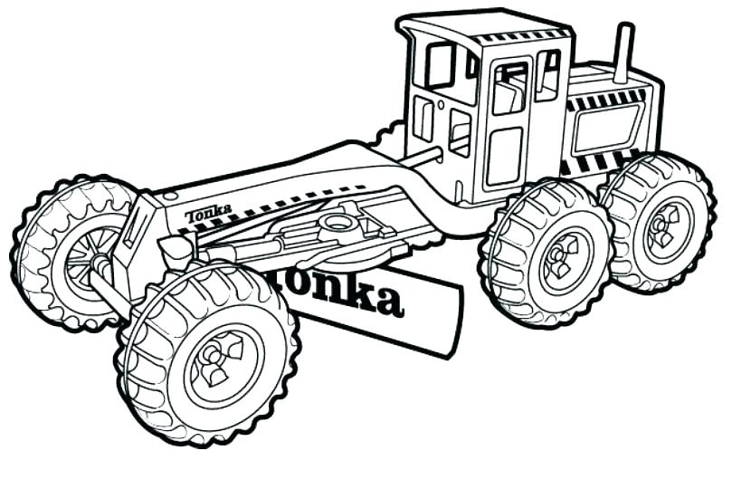 830x540 Construction Coloring Pages Free Printables Free Construction