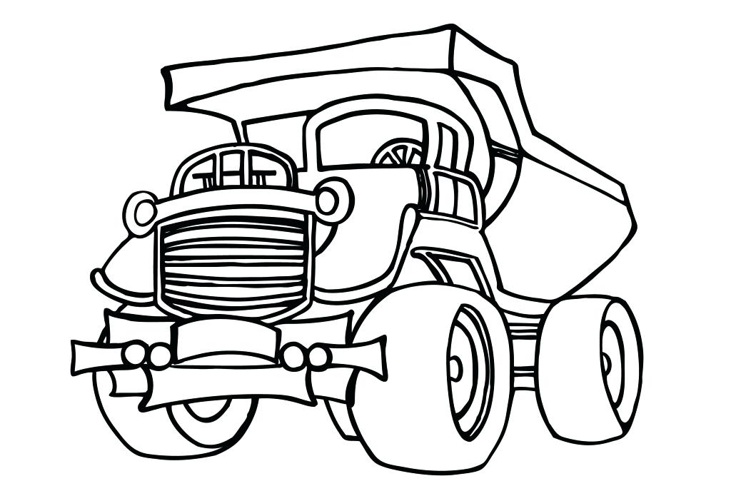 1024x695 Construction Trucks Coloring Pages Construction Trucks Coloring