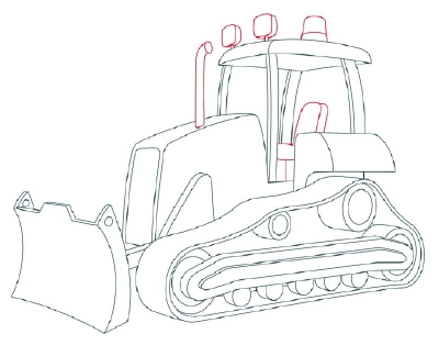 Construction Equipment Drawing