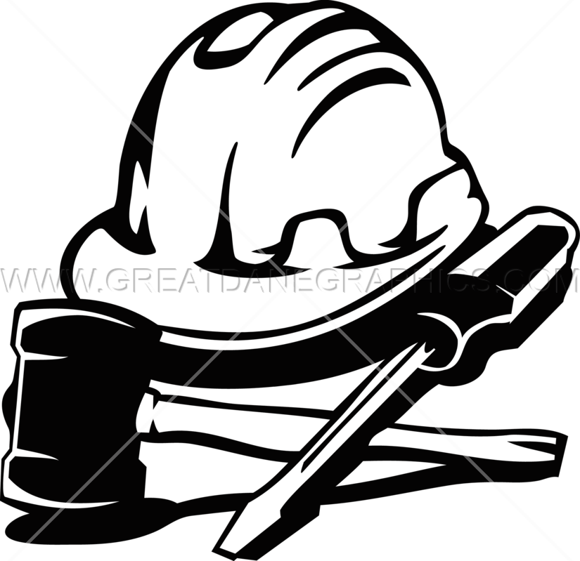 825x799 Construction Hat Amp Tools Production Ready Artwork For T Shirt