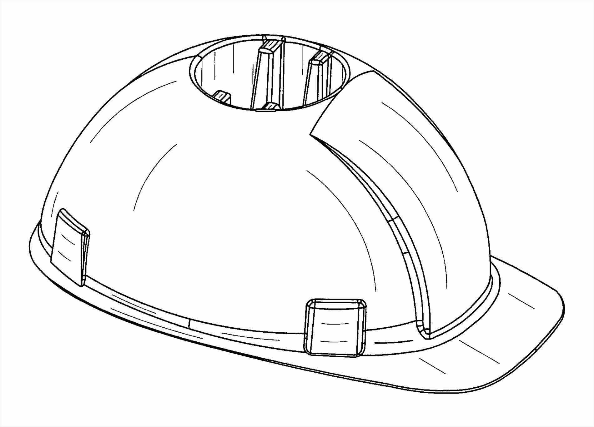 1900x1367 Vector Shutterstock Doodle Construction Hard Hats Drawing Helmet