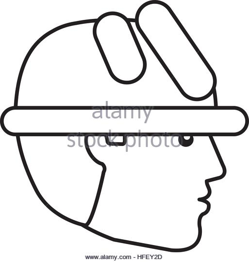 513x540 Workman Hard Hat Black And White Stock Photos Amp Images