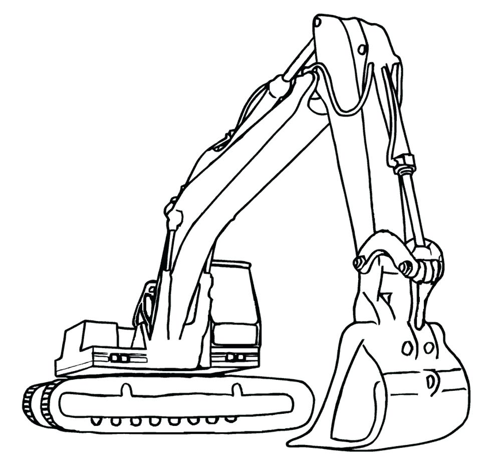 1000x933 Coloring Construction Coloring Page Cement Mixer On The Building