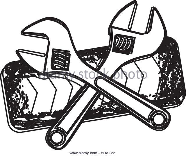 640x537 Maintenance Tools Drawing Stock Photos Amp Maintenance Tools Drawing