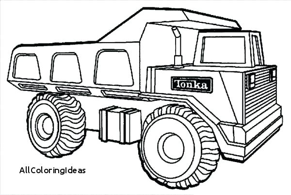 600x402 Dump Truck Coloring Page Coloring Download Coloring Pages Dump