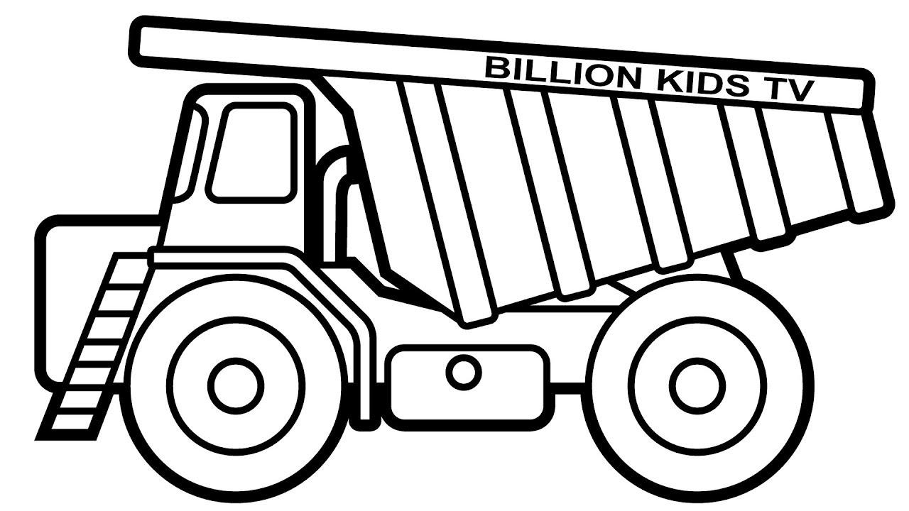 Construction Truck Drawing At Getdrawings Com Free For