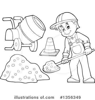 Construction Worker Drawing At Getdrawings Com Free For