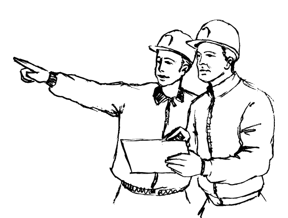 construction worker drawing at getdrawings com