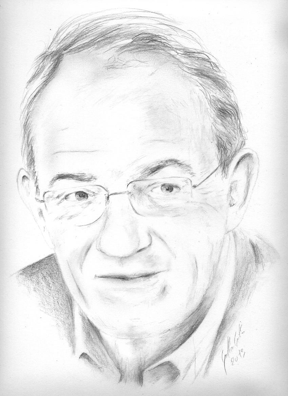 850x1170 Jean Pierre Pernaut. Dessin Au Crayon Dessins, Drawing Pencil