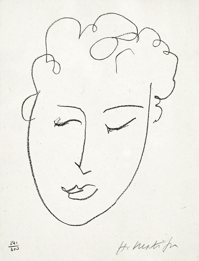648x850 This Is An Original Lithograph Hand Signed By Henri Matisse, One