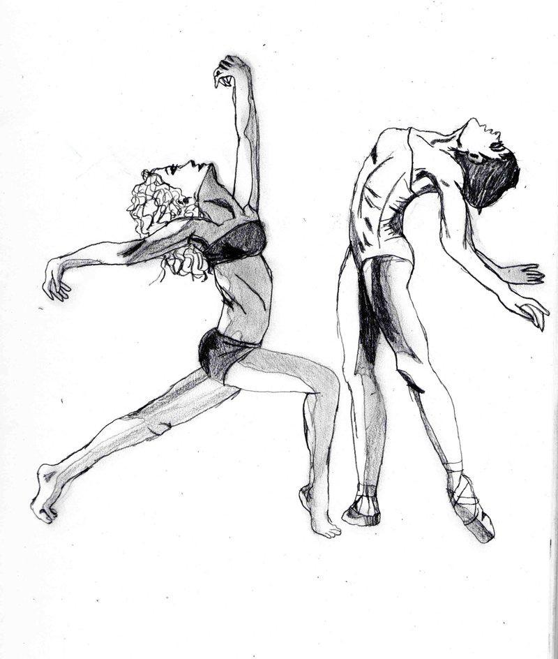 800x944 Drawn Dancer Jazz Dancer