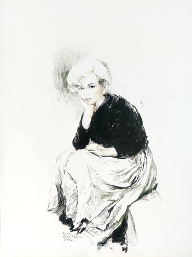 375x502 Buy Original Pastel Realism Celebrity Drawings Online Saatchi Art