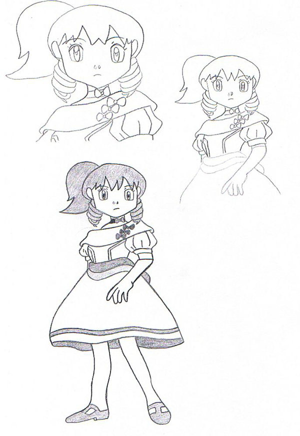 600x873 How To Draw Dawn In Contest 2 By Eternash
