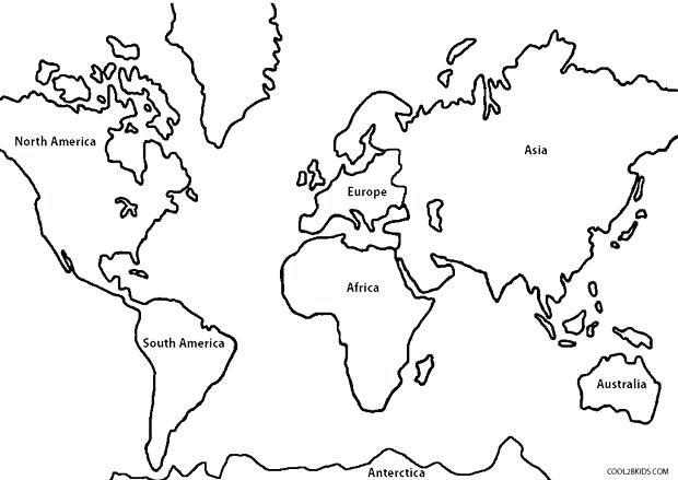 620x439 Superb Extraordinary World Map Coloring Page Free Download