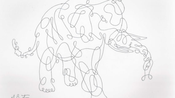 Contour Line Drawings By Famous Artists : Contour line drawing of a hand at getdrawings free