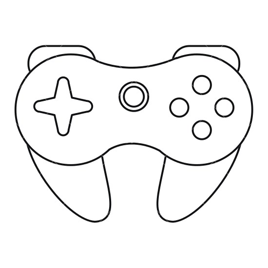 The Best Free Gamepad Drawing Images Download From 50 Free Drawings