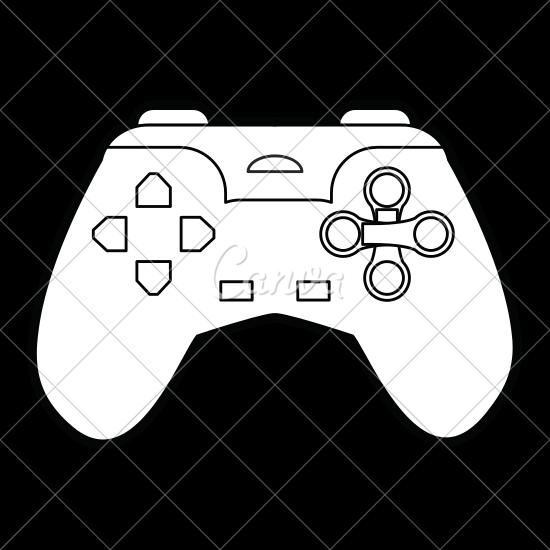 550x550 Video Game Controller Icon