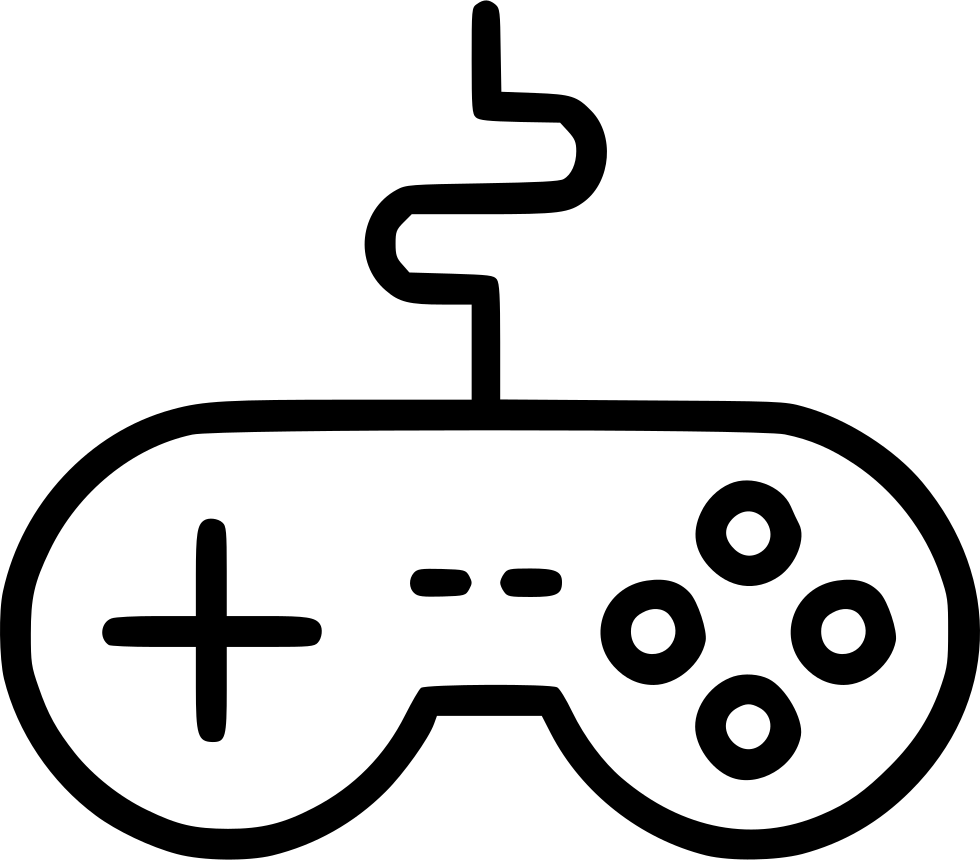 980x860 Wire Remote Controller Gamepad Device Joypad Svg Png Icon Free