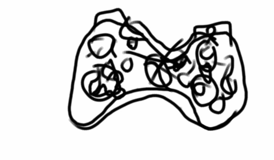 900x527 Suppose To Be My Xbox Controller By Janethekira