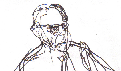 423x250 Sketch Of R.o. Blechman I Happened To See