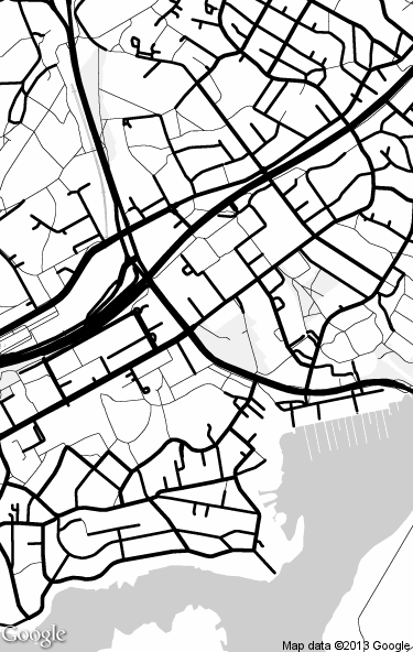 375x592 How To Create An Outlined Drawing Of A Map Or Easily Turn A Google