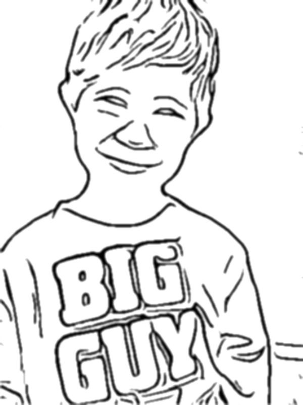 600x800 Turn Your Childs Photo Into A Coloring Page