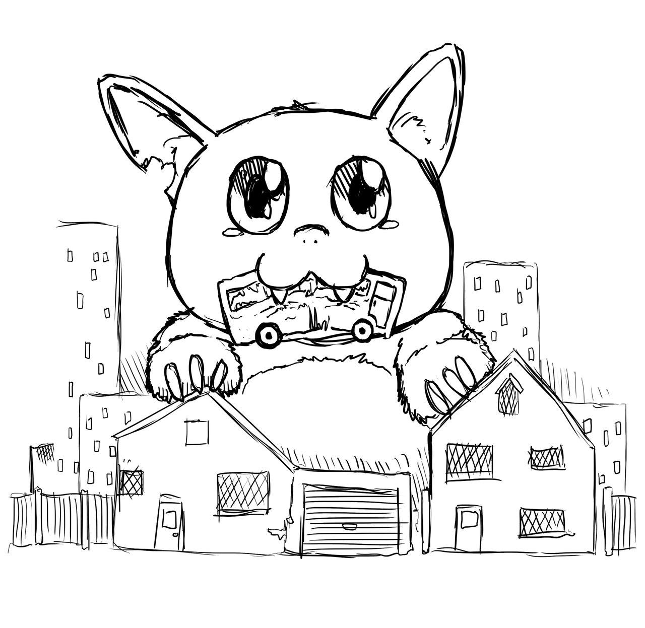 1280x1247 Drawing Cute Monster Drawings Easy As Well As Cute Cookie