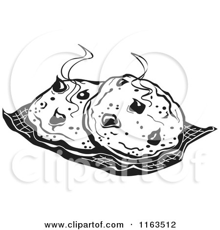 450x470 Clipart Of Black And White Fresh Hot Cocolate Chip Cookies