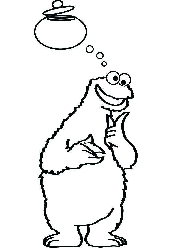 600x861 Cookie Monster Coloring Book Together With Cookie Monster Coloring