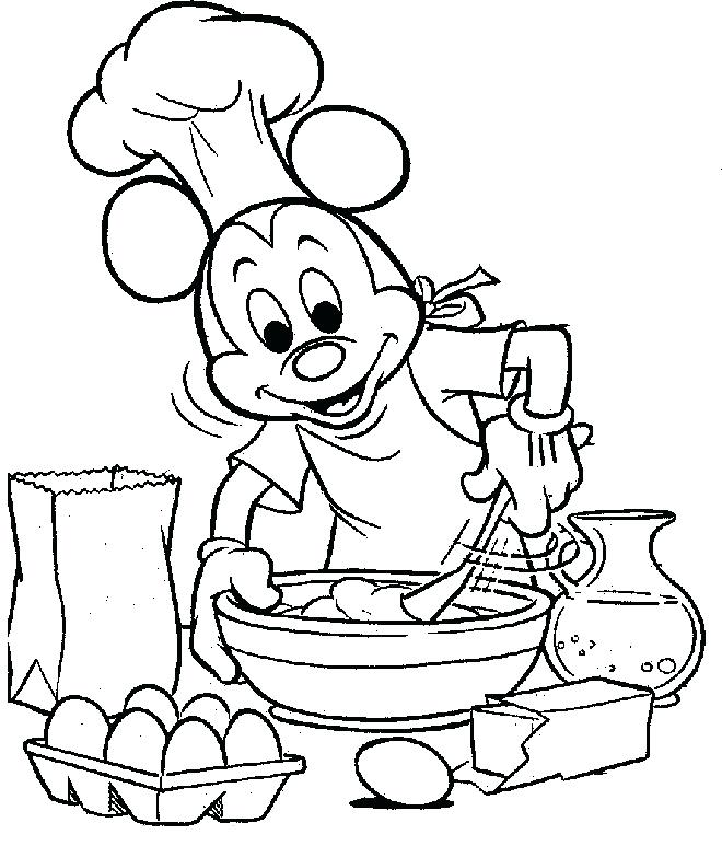 660x773 Vintage Cooking Coloring Pages