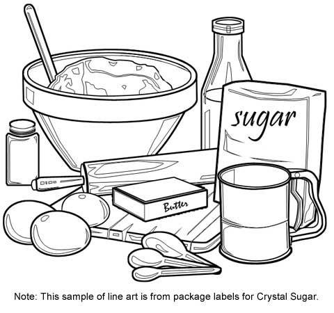 Cooking Utensils Drawing at GetDrawings | Free download