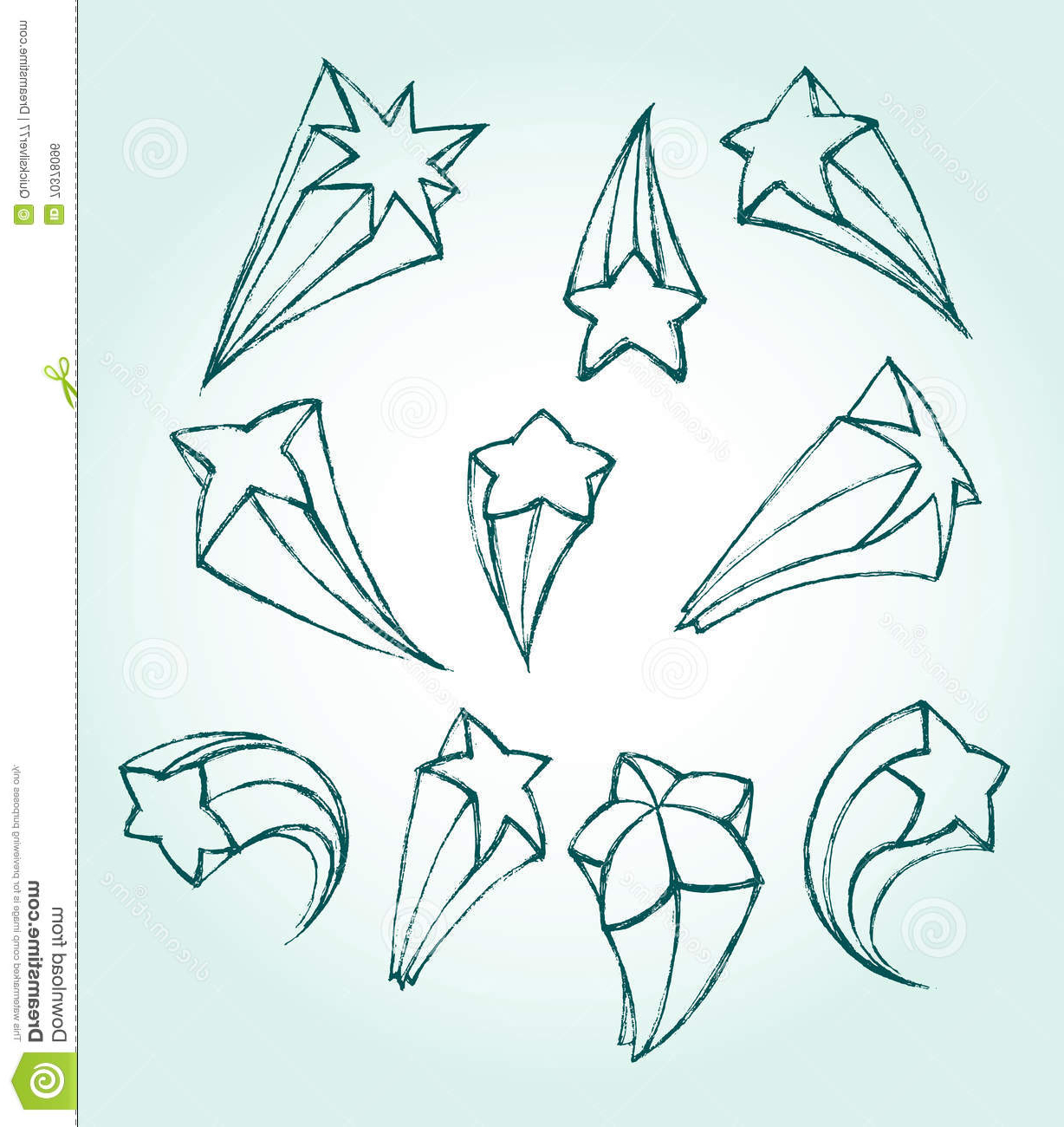 1228x1300 Cool Shooting Star Drawings 3d How To Draw Shooting Stars