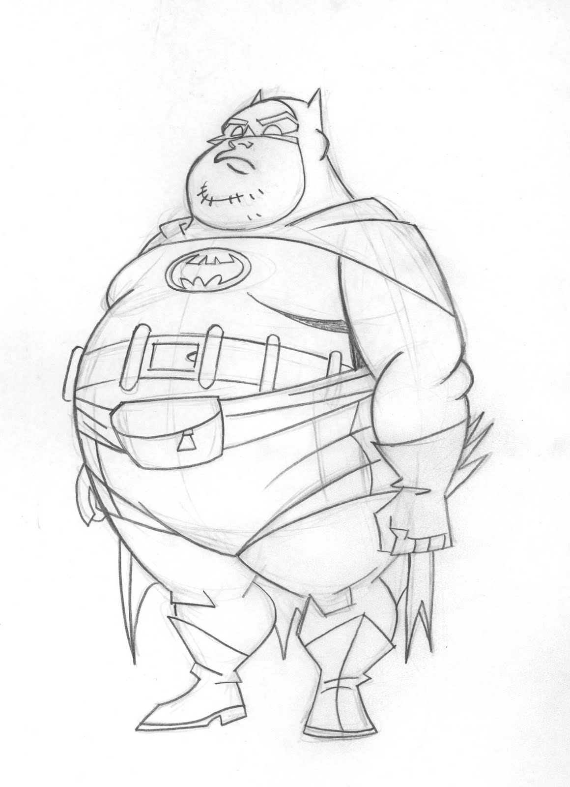 1160x1600 Batman Drawings Sketches Cool Sketches Of Batman Daily Sketch Blog
