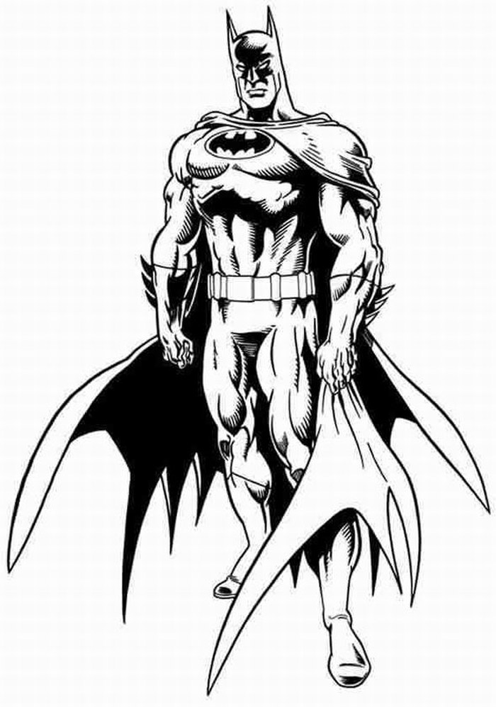 700x998 Cool Batman Coloring Pages Free Coloring Pages For Kids