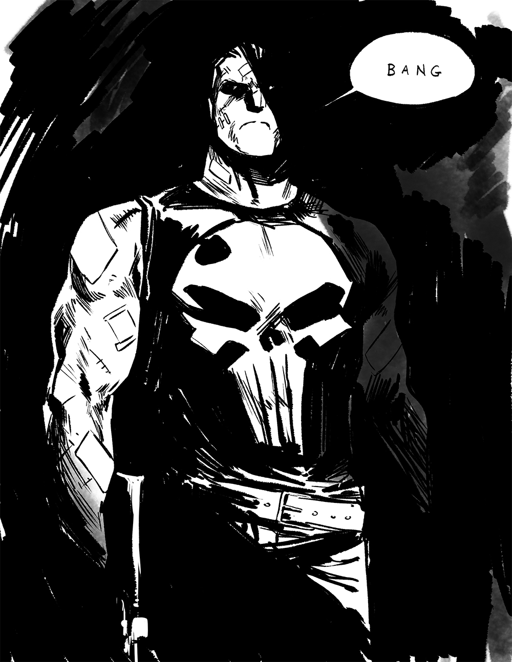 1000x1294 Awesome Art Picks Batman, Punisher, Deadpool, And More