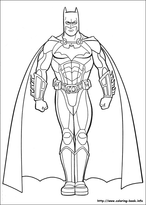 567x794 Cool Free Batman Coloring Pages 40 In Coloring Books With Free