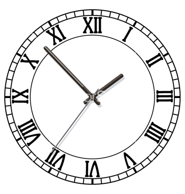 380x400 Clock Interesting Clock Drawing Test Design Clock Test For Kids