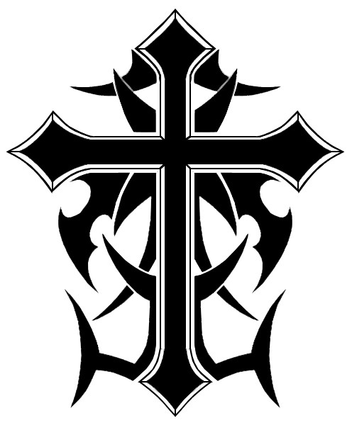 Cool cross drawing at getdrawings free for personal use cool 496x600 cool cross designs draw tribal cross design templar night bike voltagebd Image collections